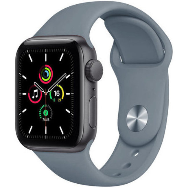 123Watches Apple watch sport band - concrete