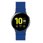 123Watches Samsung Galaxy Watch braided solo band - atlantic blue