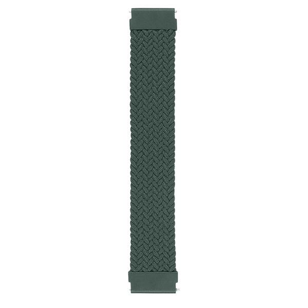 123Watches Samsung Galaxy Watch orchestre solo tressé - Vert d'Inverness