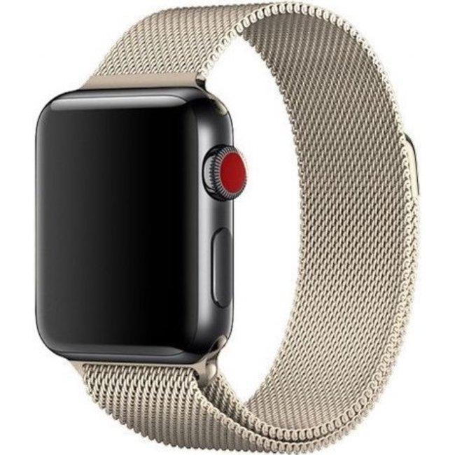 Merk 123watches Apple watch milanese band - champagne