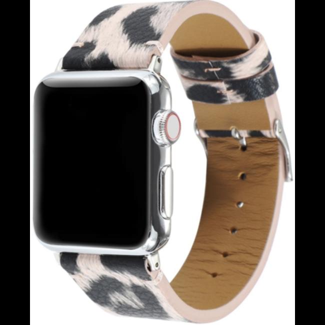 Apple watch leopard band - pink