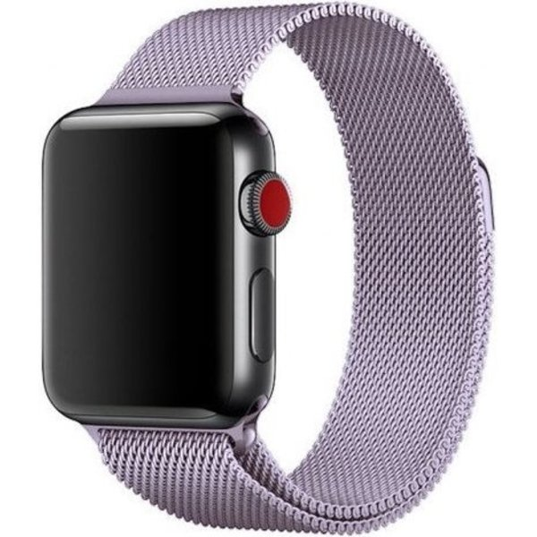 123Watches Apple watch milanese band - lavender