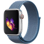 123Watches Apple watch nylon sport loop band - cape cod blue