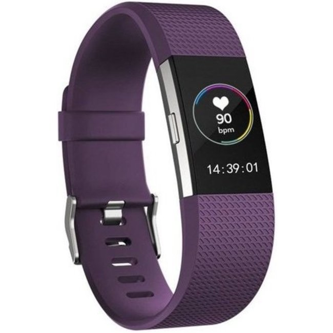 Fitbit charge 2 sport band - violet