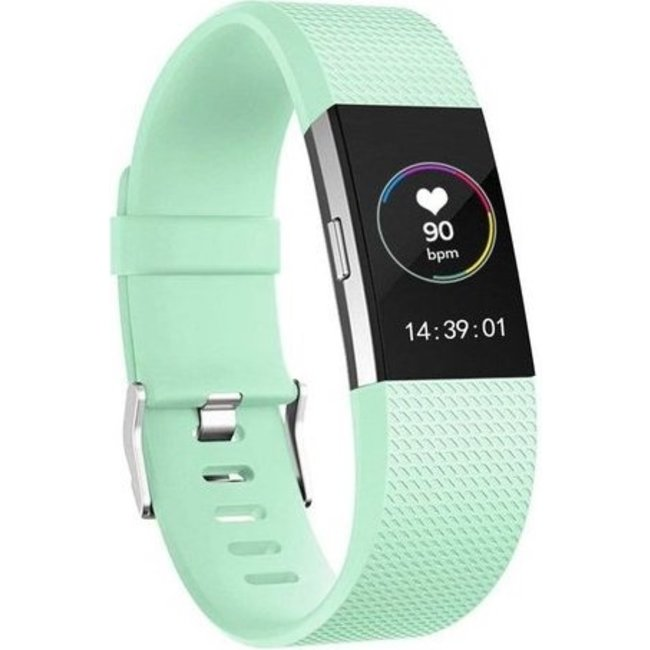 Fitbit charge 2 sport band - lake blauw
