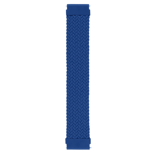 123Watches Garmin Vivoactive / Vivomove gevlochten solo band - atlantische blauw