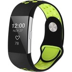 123Watches Fitbit charge 2 sport band - black green