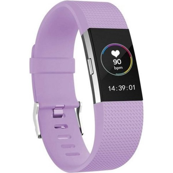 123Watches Fitbit charge 2 sport band - lichtpaars