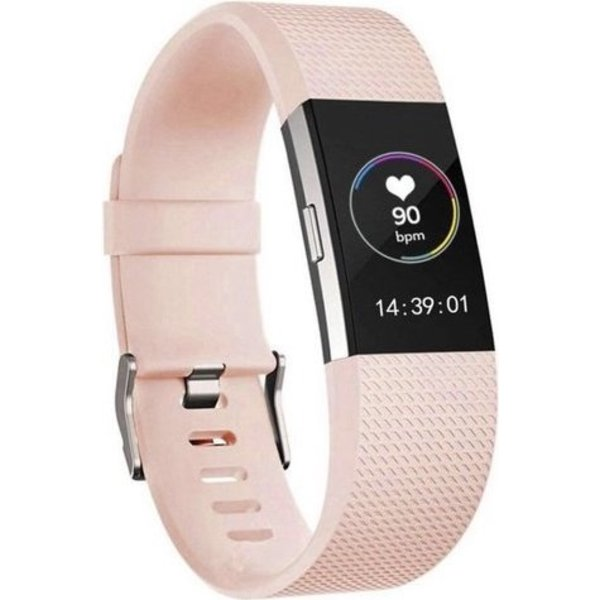 123Watches Fitbit charge 2 bracelet sportif  - rose