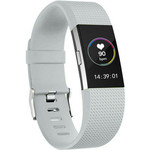 123Watches Fitbit charge 2 sport band - lichtgrijs