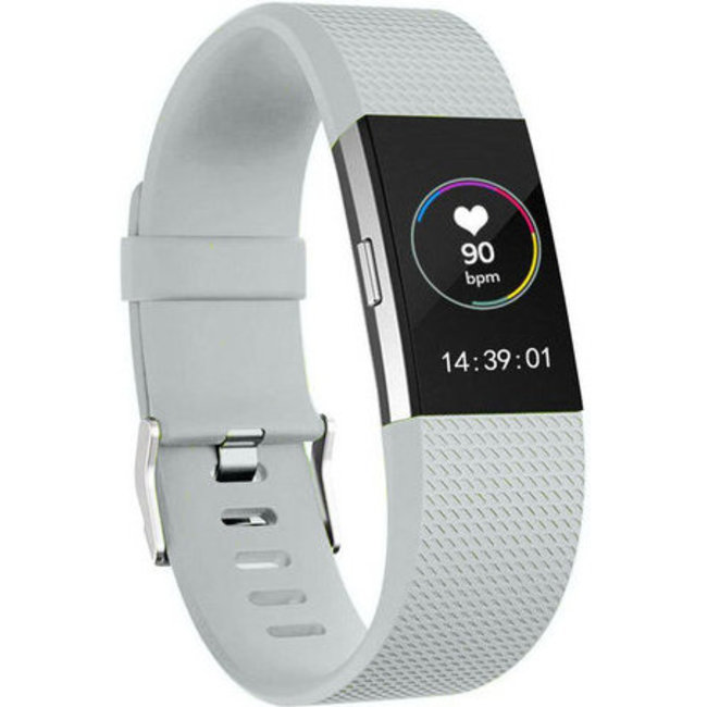 Fitbit charge 2 sport band - light gray