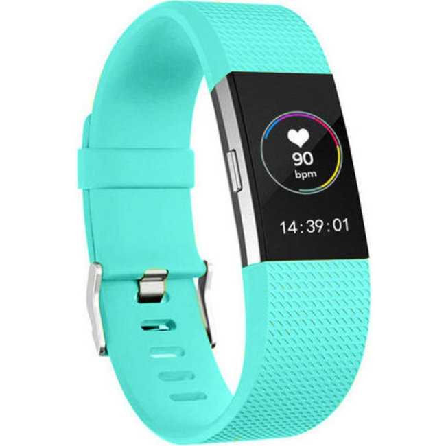 Fitbit charge 2 sport band - teal