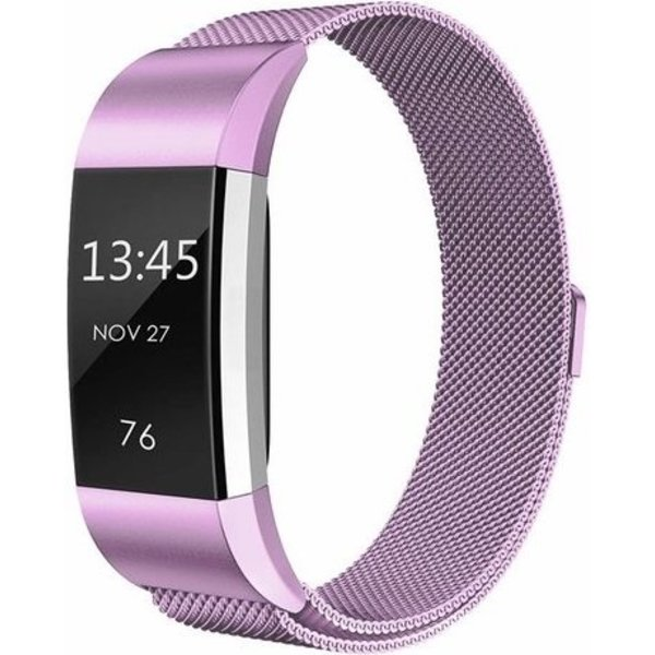 123Watches Fitbit charge 2 milanese band - lavender