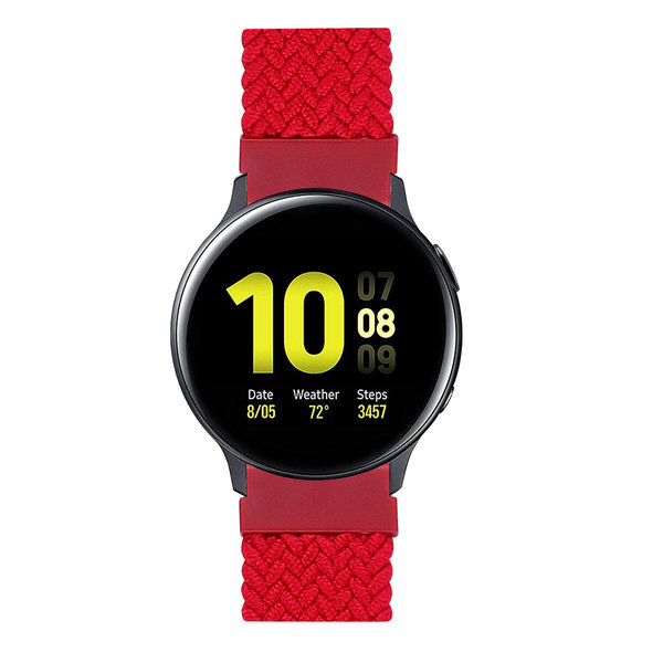 123Watches Huawei watch GT braided solo band - red