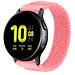 Merk 123watches Huawei watch GT gevlochten solo band - roze punch