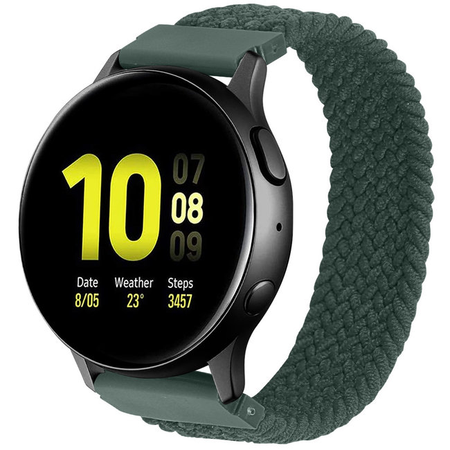 123Watches Polar Ignite braided solo band - inverness green