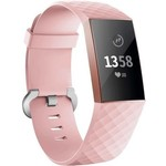 123Watches Fitbit charge 3 & 4 sport wafel band - roze