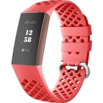 123Watches Fitbit charge 3 & 4 sport point band - rood
