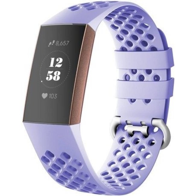 Fitbit charge 3 & 4 sport point band - lavendel
