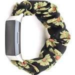123Watches Fitbit charge 3 & 4  scrunchie band - sunflower
