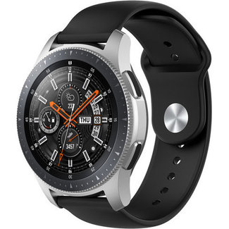 Merk 123watches Garmin Vivoactive / Vivomove silicone band - black