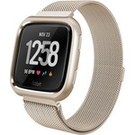 123Watches Fitbit versa milanese case band - champagne