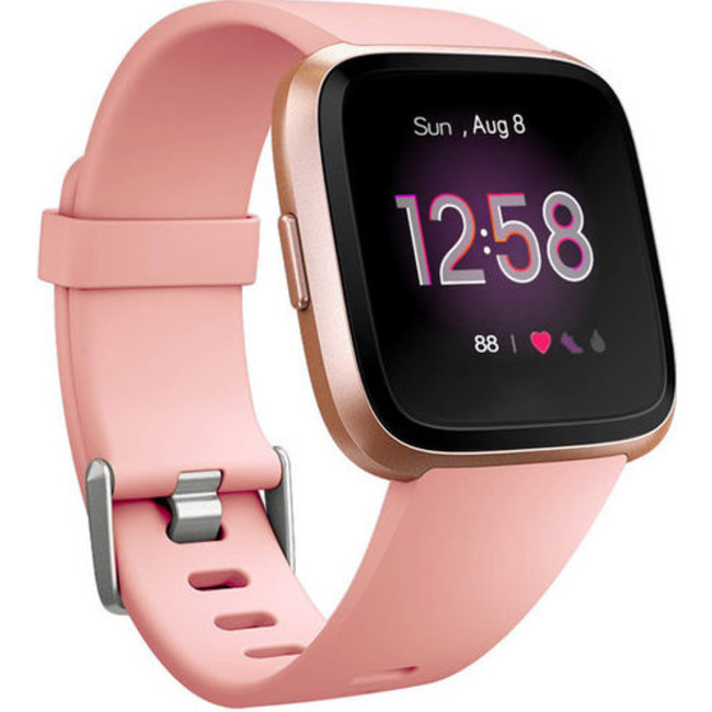 Merk 123watches Fitbit versa sport band - roze