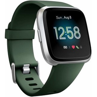 Merk 123watches Fitbit versa sport band - army green