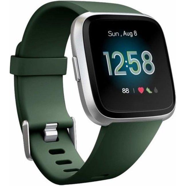 Merk 123watches Fitbit versa sport band - leger groen