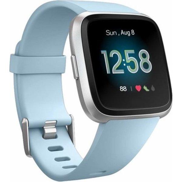 123Watches Fitbit versa sport band - licht blauw