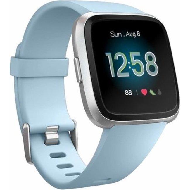 Merk 123watches Fitbit versa sport band - licht blauw
