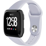 123Watches Fitbit versa silicone band - grijs