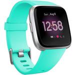 123Watches Fitbit versa sport band - blauw meer