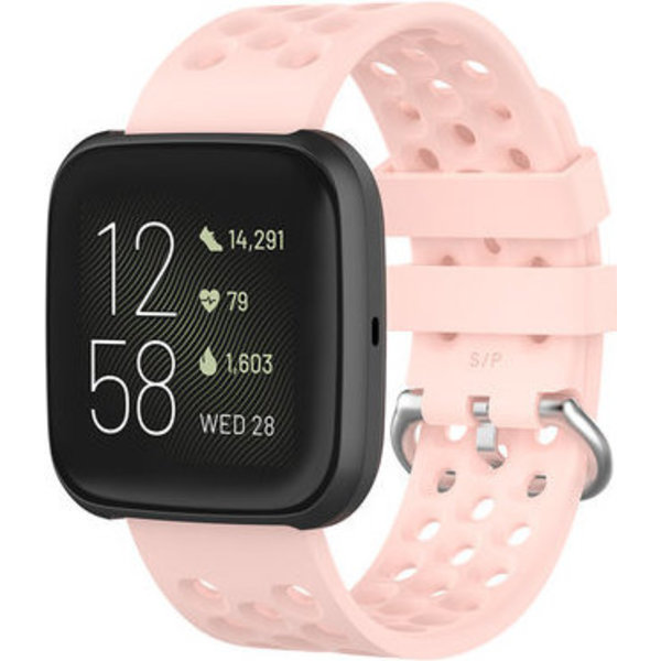 123Watches Fitbit Versa sport point band - pink