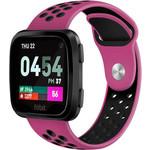 123Watches Fitbit versa double sport band - purple black