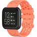 Merk 123watches Fitbit Versa sport point band - oranje
