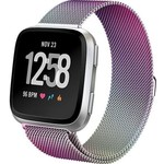 123Watches Fitbit versa milanese band - colorful