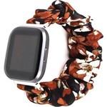 123Watches Fitbit Versa scrunchie band - lelie