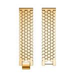 123Watches Samsung Galaxy Watch fish steel band band - gold