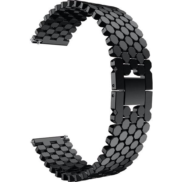 123Watches Samsung Galaxy Watch fish steel band band - black