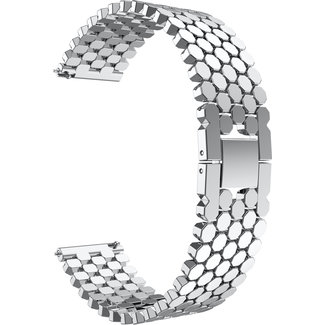 Merk 123watches Samsung Galaxy Watch fish steel band band - silver