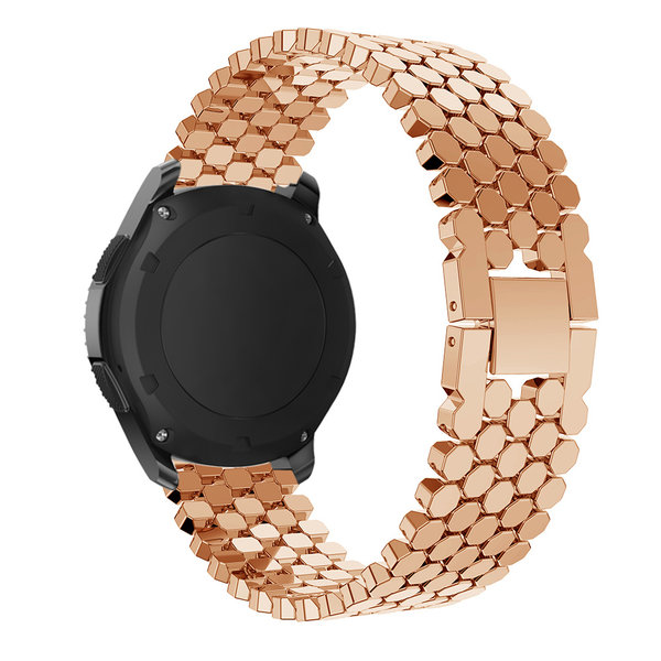 123Watches Samsung Galaxy Watch fish steel band band - rose gold