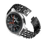 123Watches Samsung Galaxy Watch cowboy steel band band - black