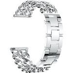 123Watches Samsung Galaxy Watch cowboy stalen schakel band - zilver