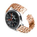 123Watches Samsung Galaxy Watch cowboy stalen schakel band - rose goud