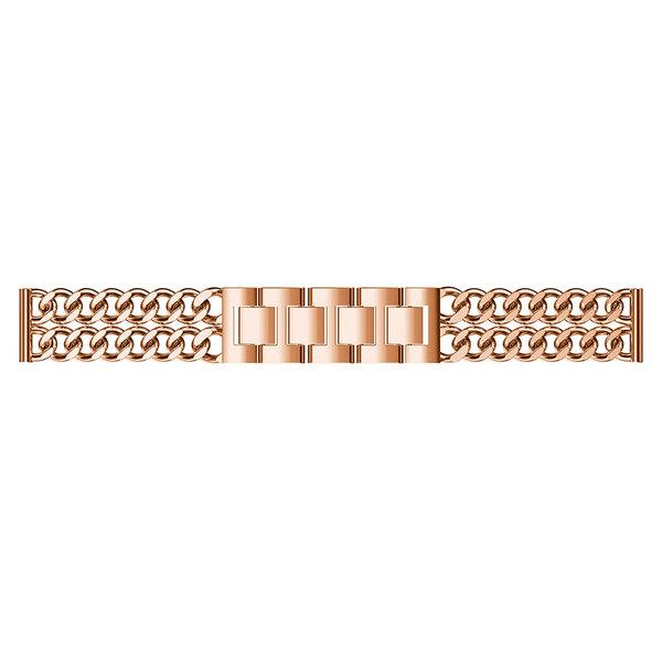 123Watches Samsung Galaxy Watch cowboy steel band band - rose gold