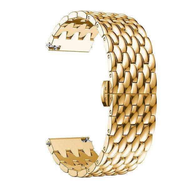 123Watches Garmin Vivoactive dragon steel band band - gold