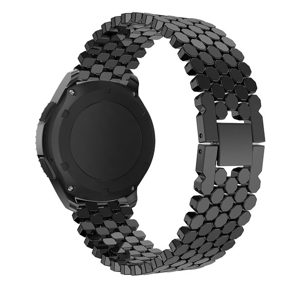 123Watches Huawei GT fish steel band band - black