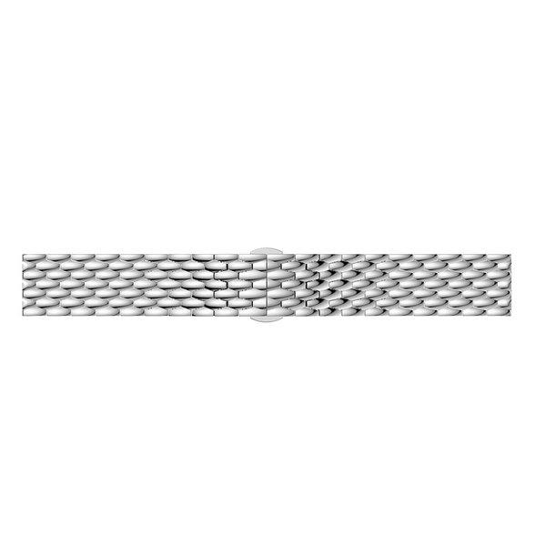 123Watches Huawei GT draak stalen schakel band - zilver