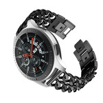 123Watches Huawei GT cowboy steel band band - black